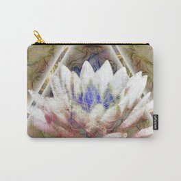 Lotus Pyramid Carry-All Pouch
