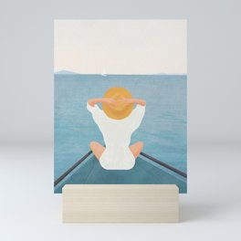 Summer Vacation I Mini Art Print