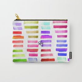 Straw Stripes Carry-All Pouch