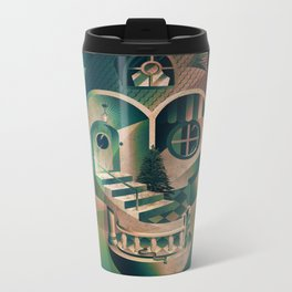 Utopia Skull 1 Metal Travel Mug
