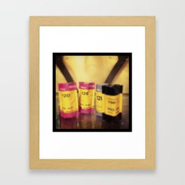 120 film Framed Art Print