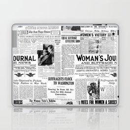 MAKING AMERICA GREAT - WOMEN'S SUFFRAGE Laptop & iPad Skin