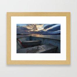 Sunset Horizon Framed Art Print
