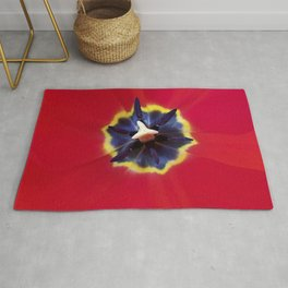 Seeing red (at tulip time) Rug