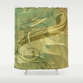 Saule Shower Curtain