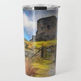 Dolbadarn Castle Llanberis Wales Travel Mug