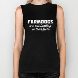 Outstanding Farmdogs Biker Tank