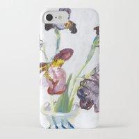 german iPhone & iPod Cases featuring German Iris by Shinichi Imanaka