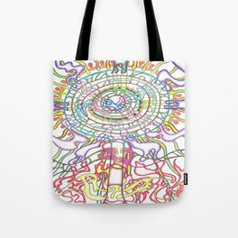 The Tree of Life in four Seasons Tote Bag