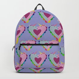 The heart has a kiss in mind Backpack