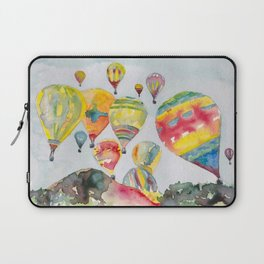 Hot air balloons flying Laptop Sleeve