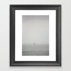 Sea of Constant Sorrow  Framed Art Print