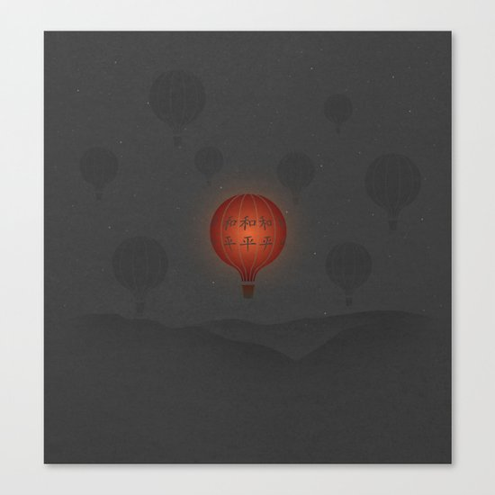 Peace at 10,000 Feet Canvas Print