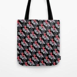 Jungle Cat Woman Tote Bag