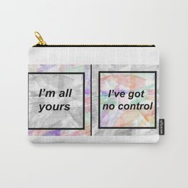 No Control Watercolour Carry-All Pouch