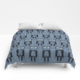Super cute animals - Cheeky Blue Monkey Comforters