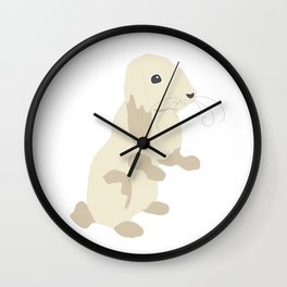 Lovely Bunny Wall Clock