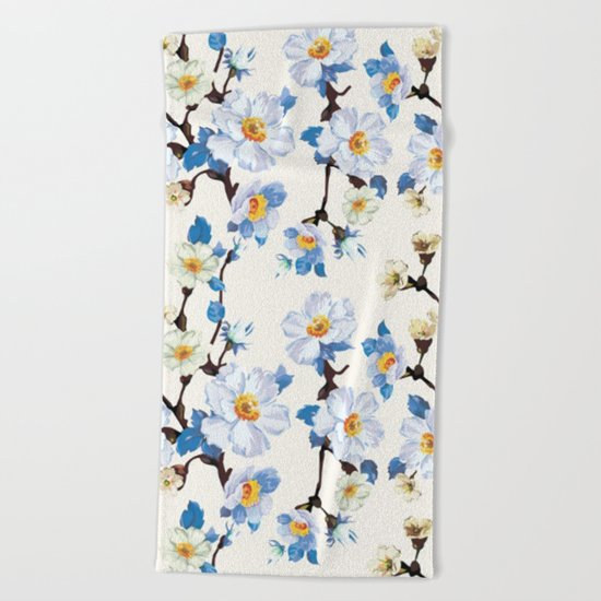 Spring in the air #7 Beach Towel