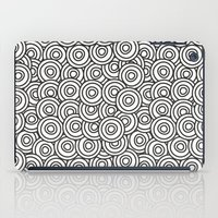 stark iPad Cases featuring Stark Circles by SonyaDeHart