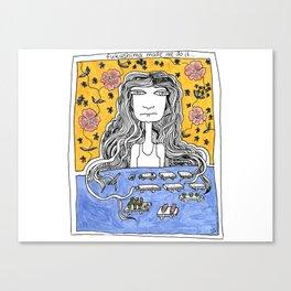 Fukushima made me do it... Canvas Print