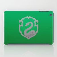 slytherin iPad Cases featuring Or perhaps in Slytherin by Tom Oxnam