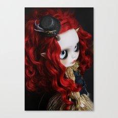STEAMPUNK (Ooak  BLYTHE Doll) Canvas Print