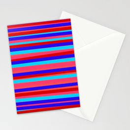 nearly horizontals Stationery Cards