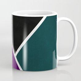 Noir Series - Purple & Green Coffee Mug