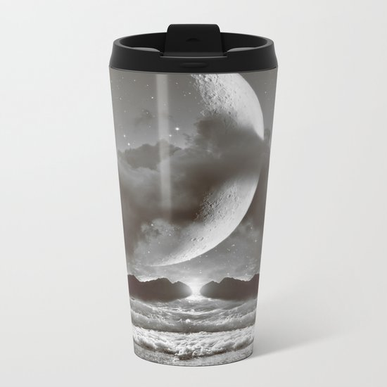 The Currents Will Shift Metal Travel Mug