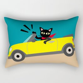 Whim in the car Rectangular Pillow