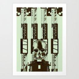 Mechanical 8 Art Print