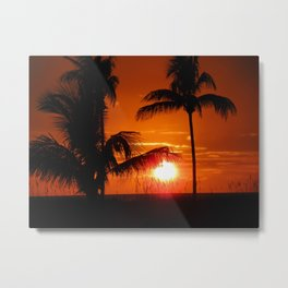 Beautiful Sunset II Metal Print