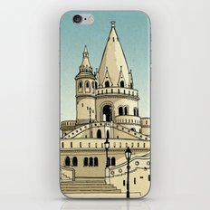 Fisherman's Bastion - Budapest - Hungary iPhone & iPod Skin