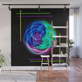 Abstract in perfection Wall Mural