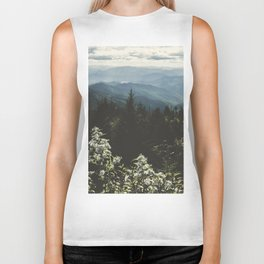 Smoky Mountains - Nature Photography Biker Tank