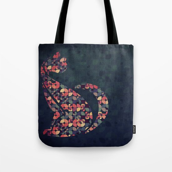 The Pattern Cat Tote Bag