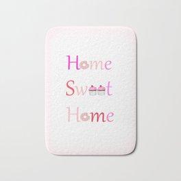 Sweet Home Bath Mat