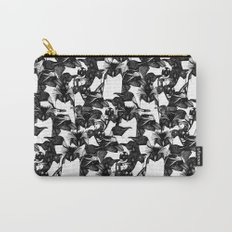 just penguins black white Carry-All Pouch