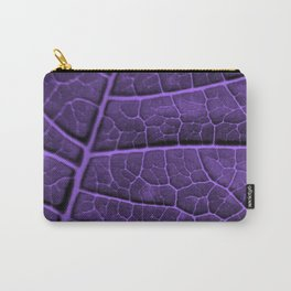 LEAF STRUCTURE ULTRAVIOLET no3 Carry-All Pouch