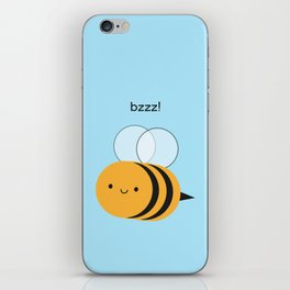 Kawaii Buzzy Bumble Bee iPhone Skin
