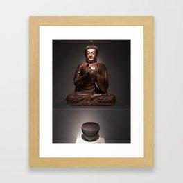 buddha bowl Framed Art Print