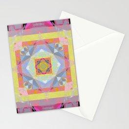 Joy and Uplifting Soul Smile Mandala Painting Stationery Cards