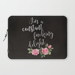 fucking delight Laptop Sleeve