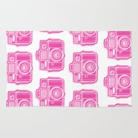 I Still Shoot Film Holga Logo - Pink Rug