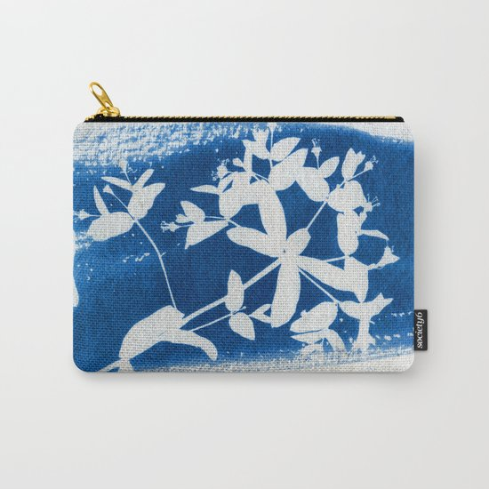 Herbal Sunprint #5 Carry-All Pouch