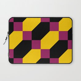Polygons and squares. Simple. I thought about a chainmail, don't know why. Laptop Sleeve