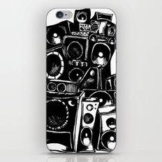 boombox iPhone & iPod Skin