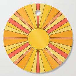 Sun rays Cutting Board