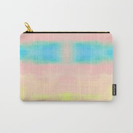 Watercolor Pastel Tides Blush Carry-All Pouch