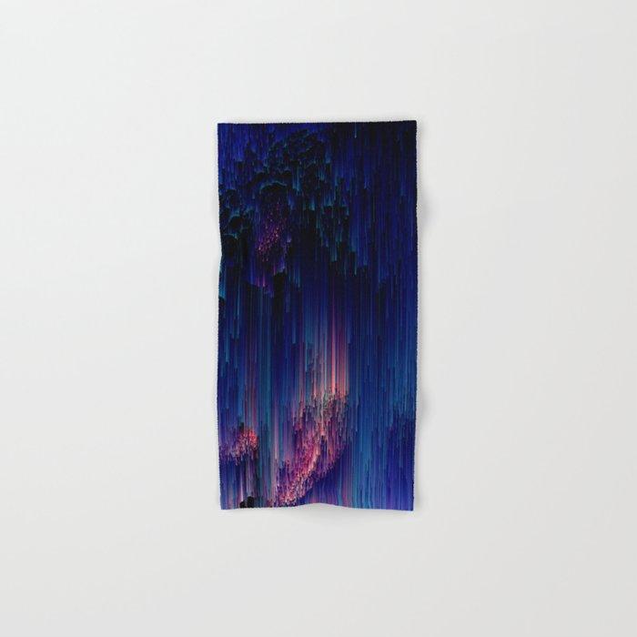 Glitch of Fantasy - Abstract Pixel Art Hand & Bath Towel